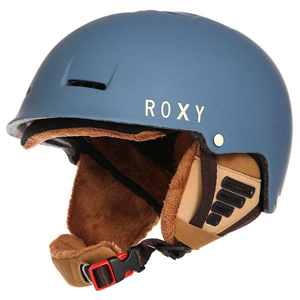 Шлем для сноуборда женский Roxy Avery Copen Blue<br><br>Цвет: синий<br>Тип: Шлем для сноуборда<br>Возраст: Взрослый<br>Пол: Женский