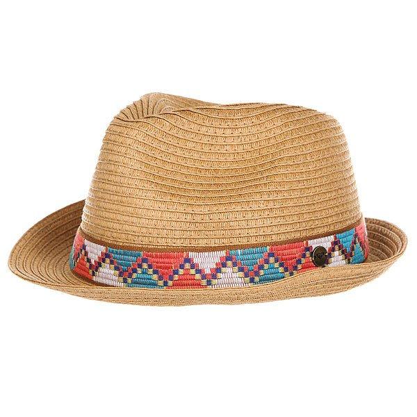 Шляпа женская Roxy Sentimiento Natural<br><br>Цвет: коричневый<br>Тип: Шляпа<br>Возраст: Взрослый<br>Пол: Женский