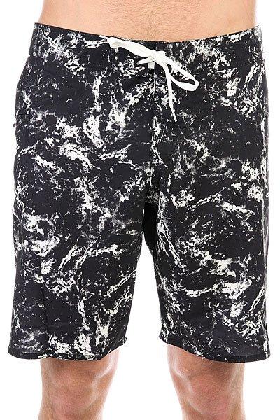 Шорты пляжные DC Crutchfield 20 Black Storm Print<br><br>Цвет: черный,белый<br>Тип: Шорты пляжные<br>Возраст: Взрослый<br>Пол: Мужской