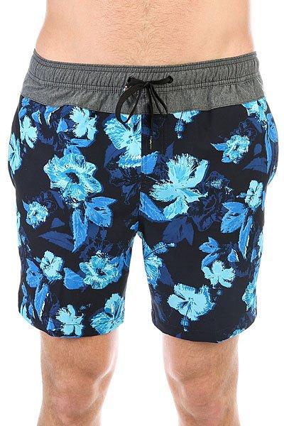 Шорты пляжные Quiksilver Junglfevvol17 Blue Danube<br><br>Цвет: синий,голубой<br>Тип: Шорты пляжные<br>Возраст: Взрослый<br>Пол: Мужской