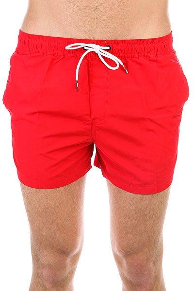 Шорты пляжные Quiksilver Azurvolley14 Quik Red<br><br>Цвет: красный<br>Тип: Шорты пляжные<br>Возраст: Взрослый<br>Пол: Мужской