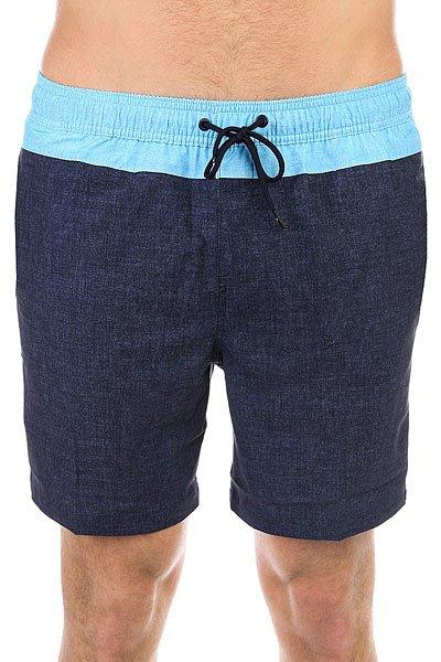 Шорты пляжные Quiksilver Inlayvolley17 Navy Blazer<br><br>Цвет: синий<br>Тип: Шорты пляжные<br>Возраст: Взрослый<br>Пол: Мужской