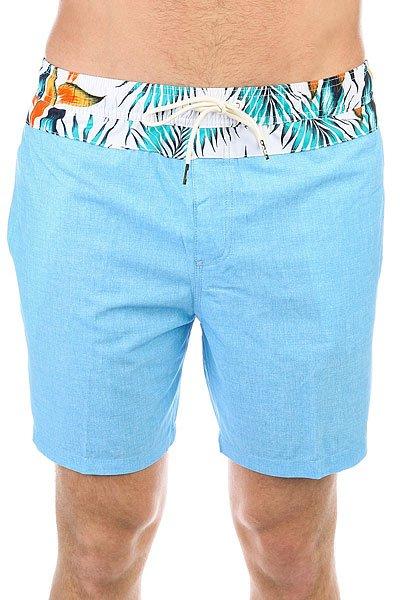 Шорты пляжные Quiksilver Inlayvolley17 Bonnie Blue<br><br>Цвет: голубой,мультиколор<br>Тип: Шорты пляжные<br>Возраст: Взрослый<br>Пол: Мужской