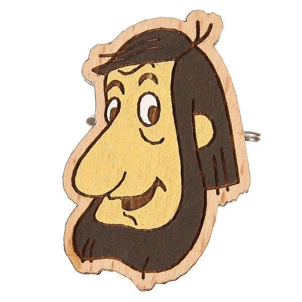 Значок Запорожец Простоквашино Папа<br><br>Цвет: коричневый<br>Тип: Значок<br>Возраст: Взрослый<br>Пол: Мужской
