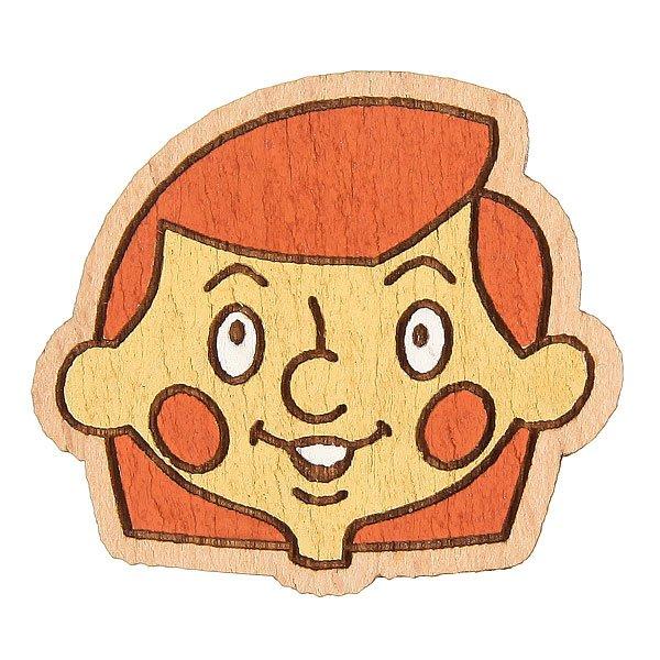 Значок Запорожец Простоквашино Дядя Федор<br><br>Цвет: коричневый<br>Тип: Значок<br>Возраст: Взрослый<br>Пол: Мужской
