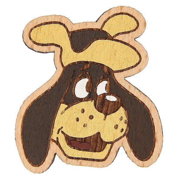 Значок Запорожец Простоквашино Пес Шарик<br><br>Цвет: коричневый<br>Тип: Значок<br>Возраст: Взрослый<br>Пол: Мужской
