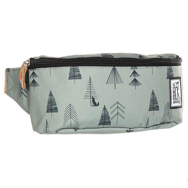 Сумка поясная The Pack Society Bum Bag Green Tree AlloverСтильная и вместительная поясная сумка The Pack Society – разбавь свою жизнь стильным принтом. Характеристики:Застежка на молнии. Регулируемый ремешок. Логотип-нашивка.<br><br>Цвет: зеленый<br>Тип: Сумка поясная<br>Возраст: Взрослый<br>Пол: Мужской