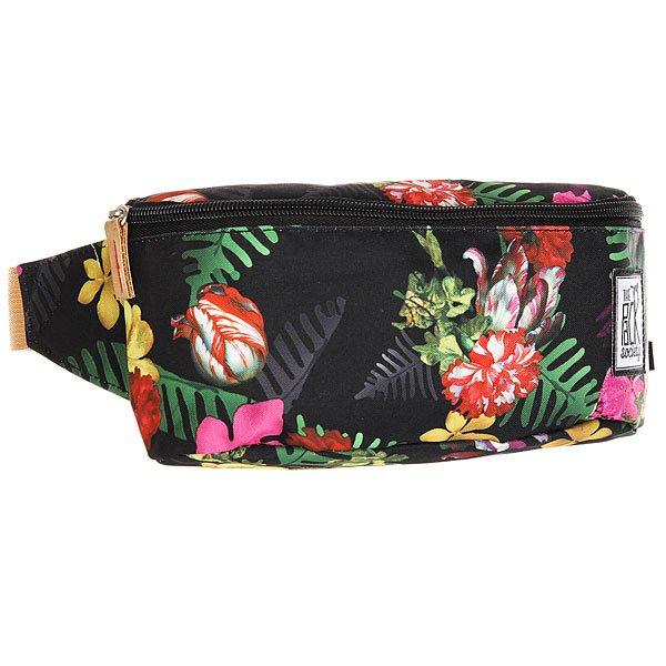 Сумка поясная женская The Pack Society Bum Bag Multicolor Old Master AlloverСтильная и вместительная поясная сумка The Pack Society – разбавь свою жизнь стильным принтом. Характеристики:Застежка на молнии. Регулируемый ремешок. Логотип-нашивка.<br><br>Цвет: черный,мультиколор<br>Тип: Сумка поясная<br>Возраст: Взрослый<br>Пол: Женский