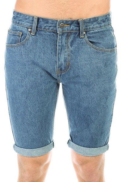 Шорты джинсовые Запорожец Basic Denim Short Regular Flex Classic Blue<br><br>Цвет: синий<br>Тип: Шорты джинсовые<br>Возраст: Взрослый<br>Пол: Мужской