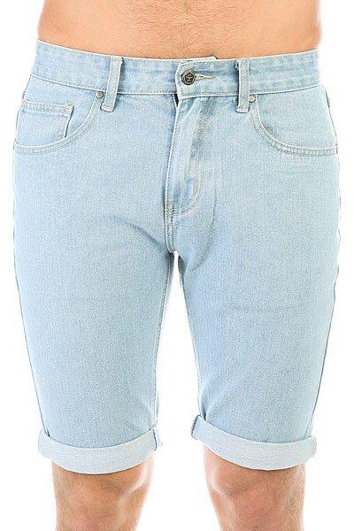Шорты джинсовые Запорожец Basic Denim Short Zap Regular Flex Light Blue<br><br>Цвет: голубой<br>Тип: Шорты джинсовые<br>Возраст: Взрослый<br>Пол: Мужской