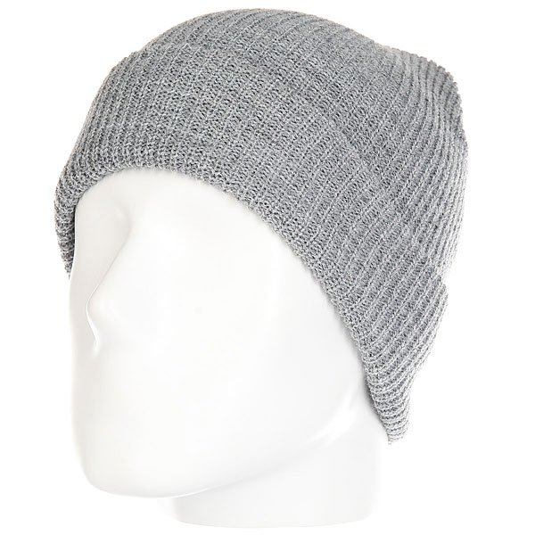 Шапка Brixton Heist Beanie Light Heather Real Grey чехол для для мобильных телефонов lg g3 lg g3 s g3s lg g3 g3mini d722 d725 d728 d724 case for lg g3 mini