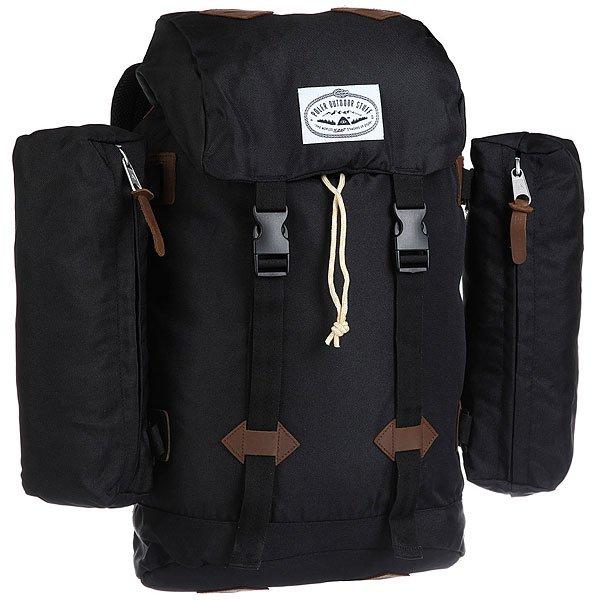 Рюкзак туристический Poler Classic Rucksack Black<br><br>Цвет: черный<br>Тип: Рюкзак туристический<br>Возраст: Взрослый