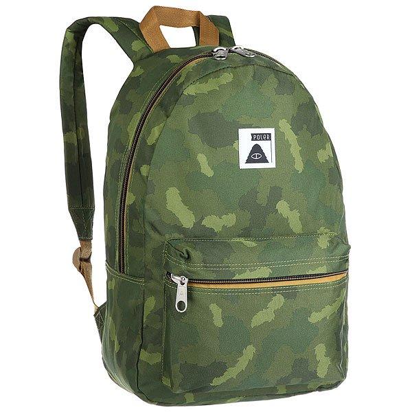 Рюкзак городской Poler Rambler PackFurry Camo<br><br>Цвет: зеленый,коричневый,камувляжный<br>Тип: Рюкзак городской<br>Возраст: Взрослый