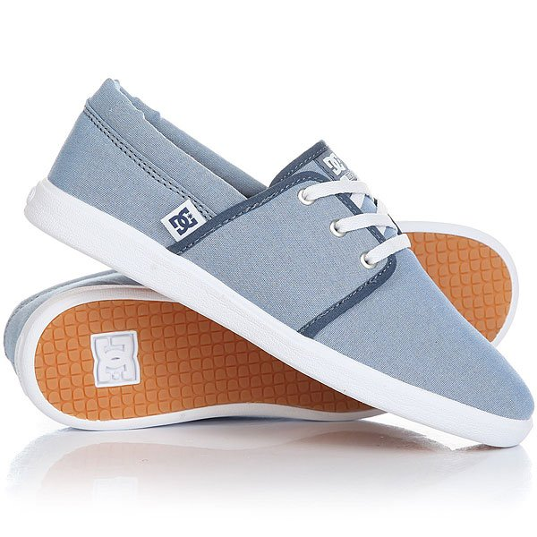 Кеды кроссовки низкие женские DC Haven Tx Se Navy/White dc shoes кеды dc shoes rebound high tx se chambray fw17 5