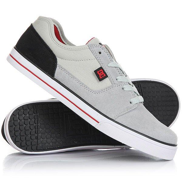 Кеды кроссовки низкие детские DC Tonik Grey/Black/Red кеды кроссовки низкие детские dc pure v ii black multi