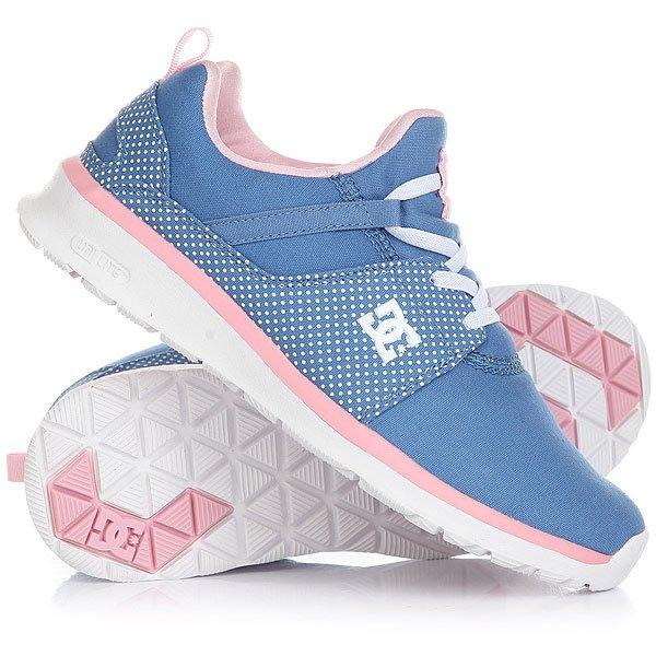 Кроссовки детские DC Heathrow Blue/White Print dc shoes кеды dc heathrow 8