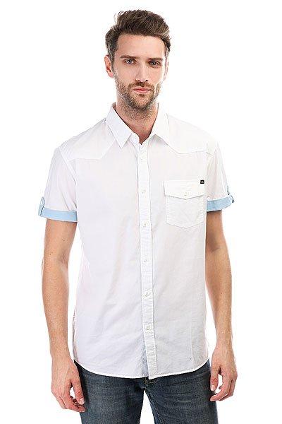 Рубашка Quiksilver Shdtikipopshirt White<br><br>Цвет: белый<br>Тип: Рубашка<br>Возраст: Взрослый<br>Пол: Мужской