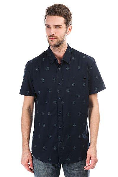 Рубашка Quiksilver Shdtikishirt Navy Blazer Tiki Bar