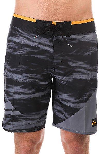 Шорты пляжные Quiksilver Newwave19 Black<br><br>Цвет: черный,серый<br>Тип: Шорты пляжные<br>Возраст: Взрослый<br>Пол: Мужской