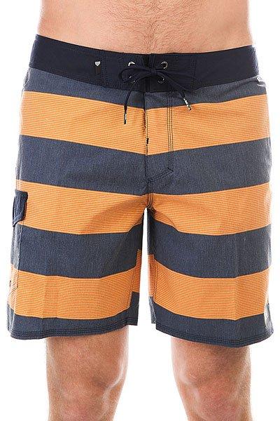 Шорты пляжные Quiksilver Everydbrigg18 Navy Blazer<br><br>Цвет: оранжевый,синий<br>Тип: Шорты пляжные<br>Возраст: Взрослый<br>Пол: Мужской