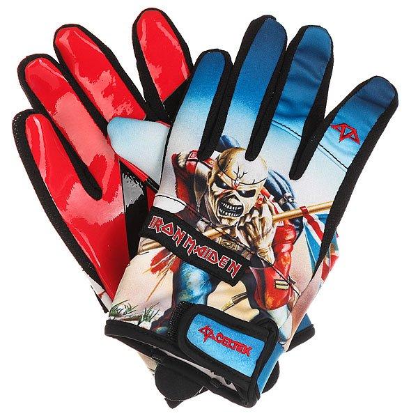 Перчатки сноубордические Celtek Misty Glove Iron Maiden Trooper<br><br>Цвет: мультиколор<br>Тип: Перчатки сноубордические<br>Возраст: Взрослый<br>Пол: Мужской