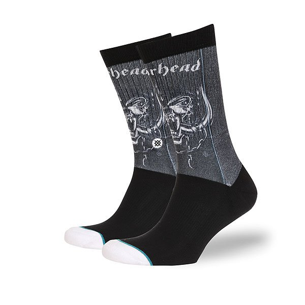 Носки высокие Stance Foundation Motorhead Black носки высокие stance safety meeting black