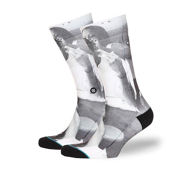 Носки средние Stance Anthem G.l Braids Real Black<br><br>Цвет: черный,серый,белый<br>Тип: Носки средние<br>Возраст: Взрослый<br>Пол: Мужской