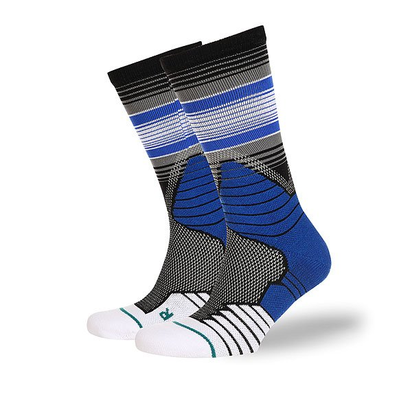 Носки средние Stance Basketball Performance Three Point Black
