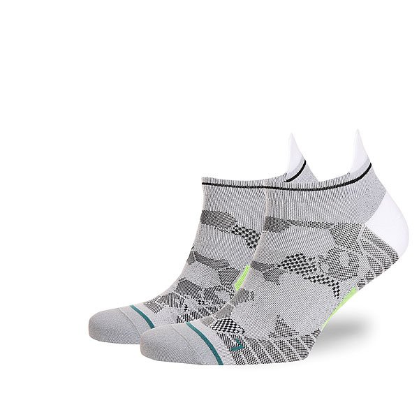 Носки низкие Stance Run Mens Honor Tab Lw White<br><br>Цвет: серый<br>Тип: Носки низкие<br>Возраст: Взрослый<br>Пол: Мужской