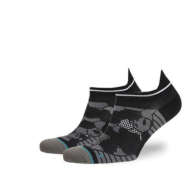 Носки низкие Stance Run Mens Honor Tab Lw Black<br><br>Цвет: серый,черный<br>Тип: Носки низкие<br>Возраст: Взрослый<br>Пол: Мужской