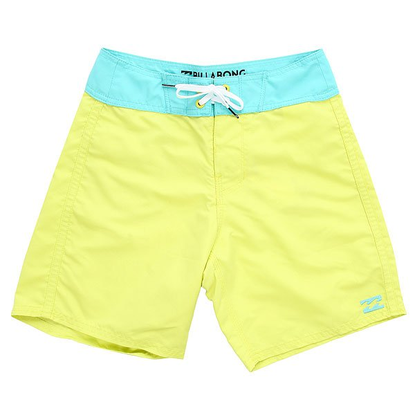 Шорты пляжные детские Billabong All Day Cut Og 15 Neo Lime