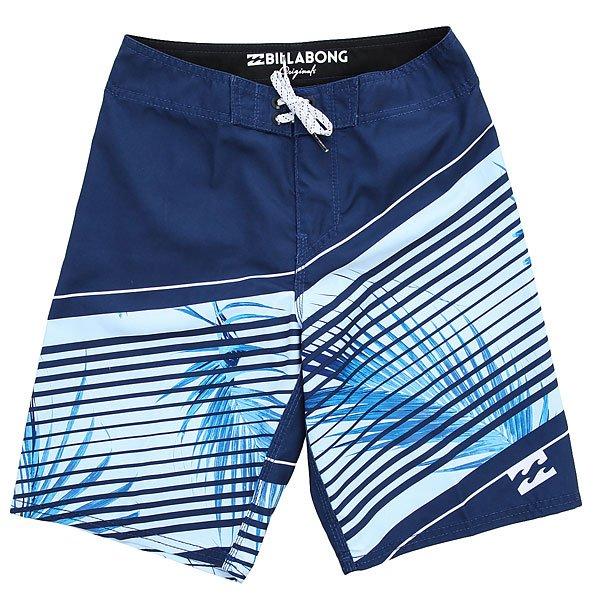 Шорты пляжные детские Billabong Resistance Og 175 Denim Blue<br><br>Цвет: синий,голубой<br>Тип: Шорты пляжные<br>Возраст: Детский
