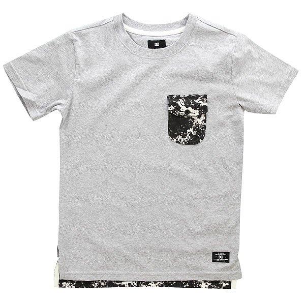 Футболка детская DC Owensboro Black Storm Print<br><br>Цвет: серый<br>Тип: Футболка<br>Возраст: Детский