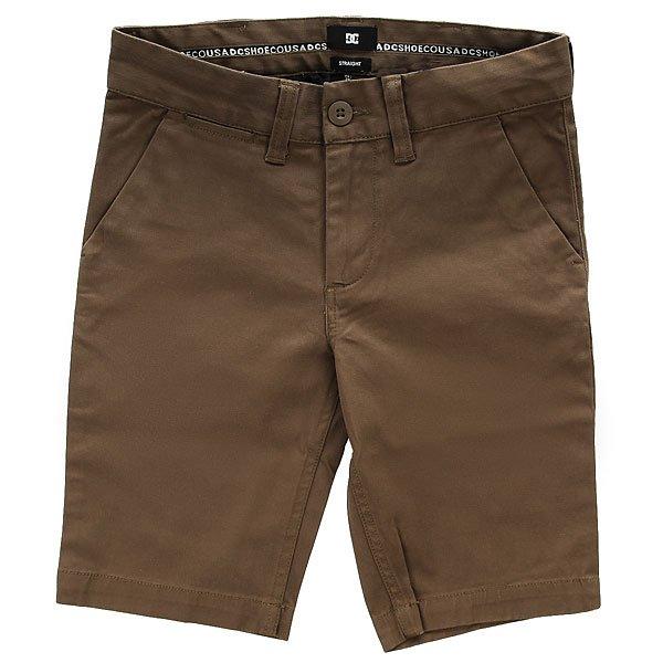 Шорты классические детские DC Worker Straight Taupe шорты классические dc worker slim wheat