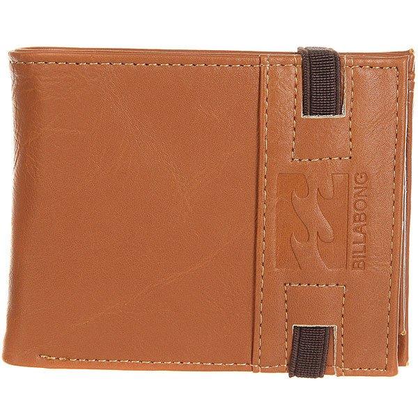 Кошелек Billabong Locked Wallet Tan<br><br>Цвет: коричневый<br>Тип: Кошелек<br>Возраст: Взрослый<br>Пол: Мужской