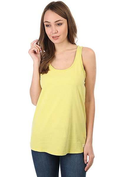 Майка женская Billabong Essential Tt Lemongrass<br><br>Цвет: желтый<br>Тип: Майка<br>Возраст: Взрослый<br>Пол: Женский