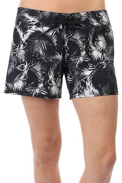 Шорты пляжные женские Billabong Surf Capsule Bs Black Sands<br><br>Цвет: черный,белый<br>Тип: Шорты пляжные<br>Возраст: Взрослый<br>Пол: Женский