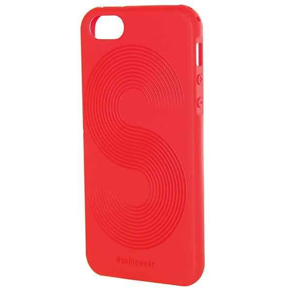 Чехол для iPhone Skills Полосы Iphone 5/5s Красный<br><br>Цвет: красный<br>Тип: Чехол для iPhone<br>Возраст: Взрослый<br>Пол: Мужской