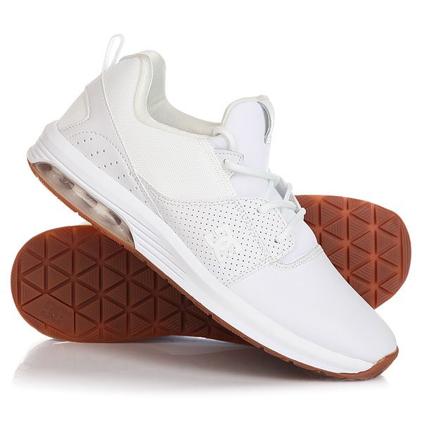 Кроссовки DC Heathrow Ia White/Gum dc shoes кеды dc heathrow 8