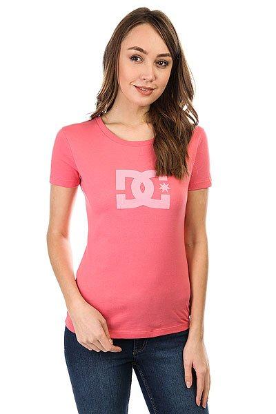 Футболка женская DC Shoes Star Ss 2 Desert Rose<br><br>Цвет: розовый<br>Тип: Футболка<br>Возраст: Взрослый<br>Пол: Женский