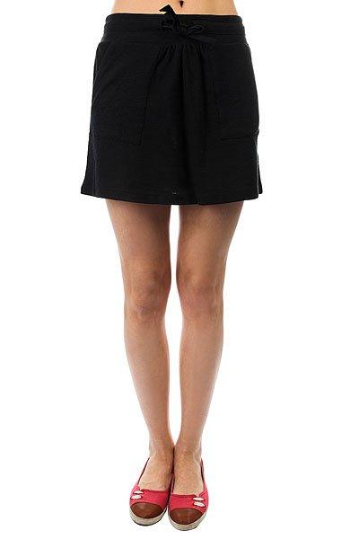 Юбка женская Roxy Fairgame Anthracite<br><br>Цвет: черный<br>Тип: Юбка<br>Возраст: Взрослый<br>Пол: Женский