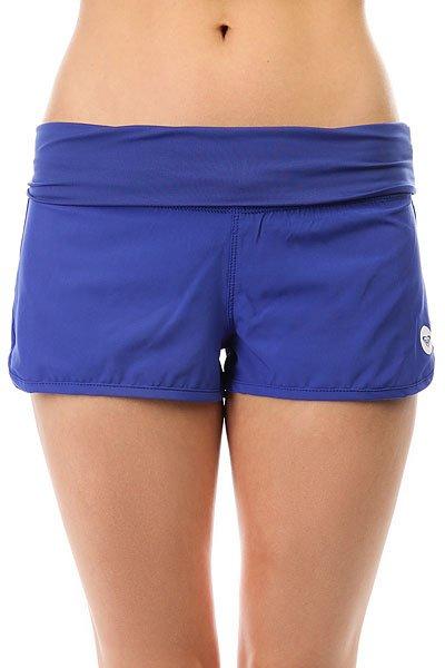Шорты пляжные женские Roxy Endless Summer Royal Blue<br><br>Цвет: синий<br>Тип: Шорты пляжные<br>Возраст: Взрослый<br>Пол: Женский