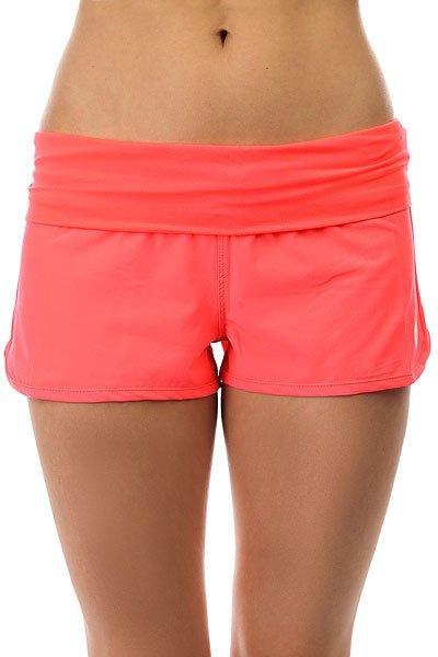Шорты пляжные женские Roxy Endless Summer Neon Grapefruit шорты roxy шорты
