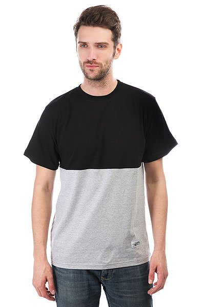Футболка Anteater Classic Combo Black/Grey<br><br>Цвет: черный,серый<br>Тип: Футболка<br>Возраст: Взрослый<br>Пол: Мужской