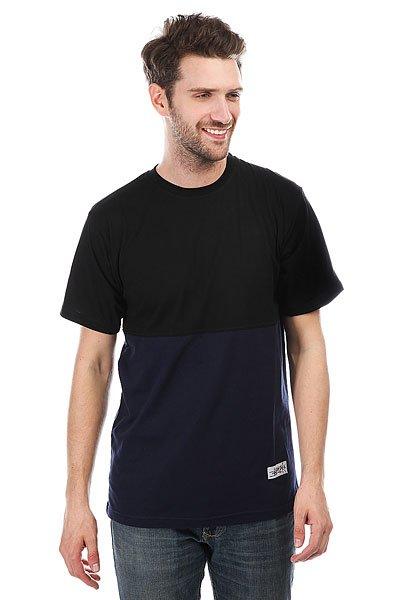Футболка Anteater Classic Combo Black/Navy<br><br>Цвет: черный,синий<br>Тип: Футболка<br>Возраст: Взрослый<br>Пол: Мужской