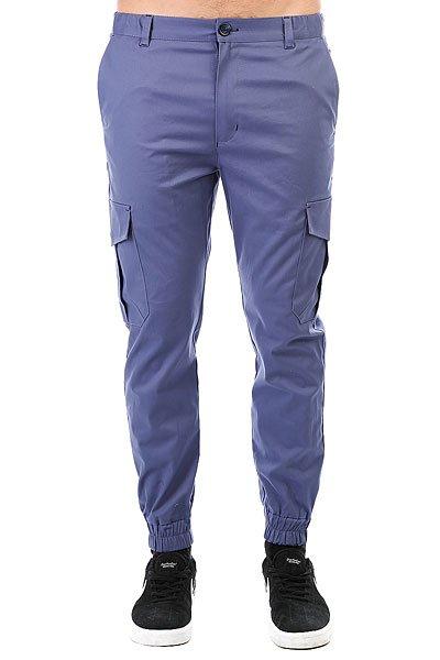 Штаны прямые Anteater Cargo Violet<br><br>Цвет: синий<br>Тип: Штаны прямые<br>Возраст: Взрослый<br>Пол: Мужской