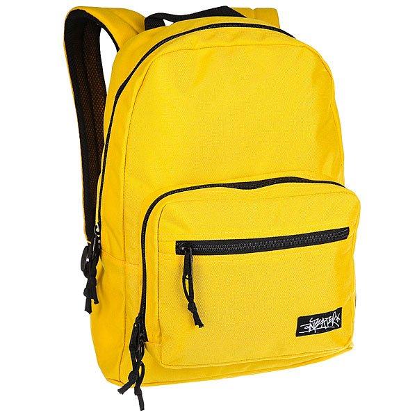 Рюкзак городской Anteater Bagmini YellowКлассический городской рюкзак из плотного полиэстера 600D от Anteater.Технические характеристики: Материал - полиэстер 600D.Одно основное отделение на молнии с карманом для ноутбука 13.Объемный внешний карман на молнии.Эргономичные мягкие плечевые ремни с регулировкой.<br><br>Цвет: желтый,черный<br>Тип: Рюкзак городской<br>Возраст: Взрослый