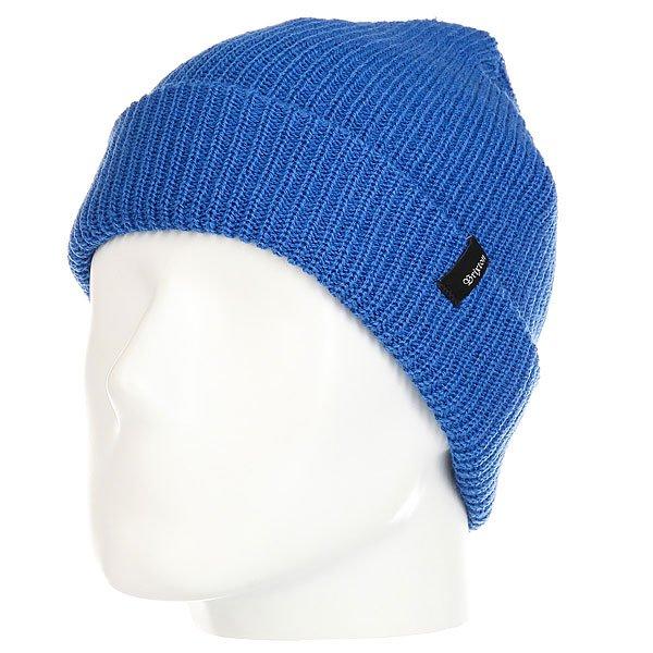 Шапка Brixton Heist Beanie Electric Blue<br><br>Цвет: синий<br>Тип: Шапка<br>Возраст: Взрослый<br>Пол: Мужской