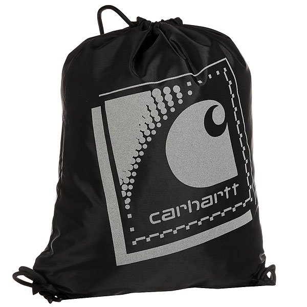 Мешок Carhartt Wip Reflective Bag Black/Reflective Grey