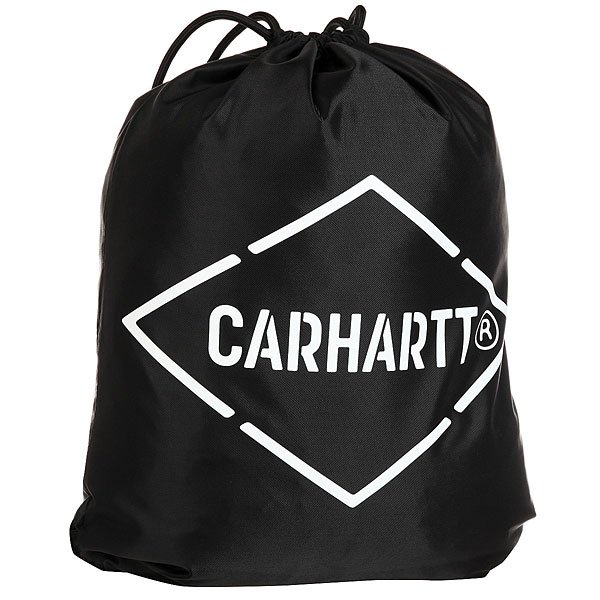 Мешок Carhartt WIP Wip Diamond Script Bag Black/White